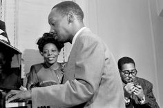 Tadd Dameron, Mary Lou Williams, and Dizzy Gillespie