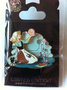 DISNEY 3D Pin Badge The Girl New LE Pin