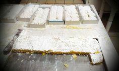 """Traditional sweet of Hydra """"Amygdalota"""" at Tsagkaris pastry shop !"""