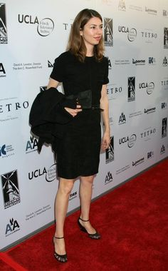 Sofia Coppola Celebrities attending the Los Angeles premiere of 'Tetro'. Hammer Museum, Westwood, CA.