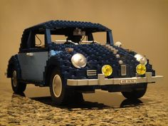 Here before you is the LEGO Volkswagen Beetle and yes! There are not many amongst us who have forgotten the hold that LEGO has over most of us. LEGO is fun, creative, simple Legos, Lego Mini, Auto Volkswagen, Automobile, Lego Blocks, Lego Worlds, Vw Cars, Small Cars, Vw Beetles