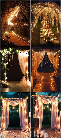 Romantic lights String Decoration Ideas Wedding Arch Useful . Romantic lights String Decoration Ideas Wedding Arch Useful Prom Decor, Garden Wedding Decorations, Ceremony Decorations, Enchanted Forest Prom, Enchanted Forest Decorations, Enchanted Wedding Ideas, Enchanted Forrest Wedding, Enchanted Forest Quinceanera Theme, Indoor Wedding Arches