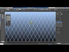 Generate topology. Быстрый способ создать решетку и плитку в 3dmax без плагинов. - YouTube