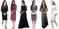 Lace Dresses Kate Middleton Dress, Kate Middleton Style, India Fashion, Royal Fashion, Duchess Kate, Duchess Of Cambridge, 10 Item Wardrobe, Capsule Wardrobe, Stylish Gown