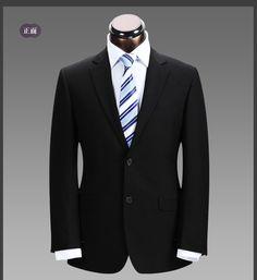 2012-autumn-and-winter-male-business-casual-slim-suits-work-wear-bridegroom-wedding-dress-groom-wear.jpg (746×813)