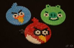 Hama / Perler beads Angry Birds made by Isa D.