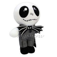 "#Jack #Skellington #plush #soft #toy # 10"" #Nightmare before #Christmas #decoration # Halloween #gift"