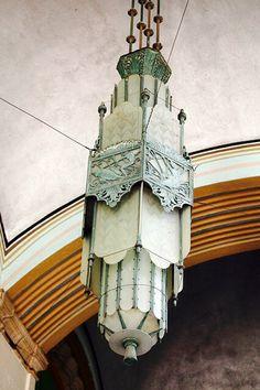 A Stunning Art Deco Lamp