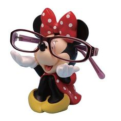Minnie Mouse Disney Eyeglass Holder - Westland Giftware - Mickey Mouse - Glasses at Entertainment Earth Disney Dorm, Deco Disney, Disney House, Disney College, Disney Bathroom, Disney Kitchen, Westland Giftware, Gata Marie, Disney Bedrooms