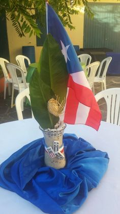 Centro de mesa - Puerto Rico