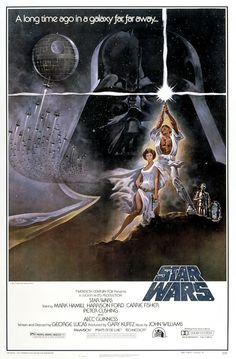 George Lucas, 1977 love this poster.