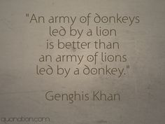 Genghis Khan Quotes at Quonation