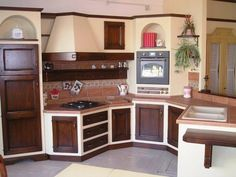 IDEE FUTURA CASA - Cucina in muratura taverna