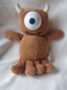 "Monsters Inc Little Mikey Doll Disney Hasbro 10"" Plush Stuffed Animal Toy Eye"