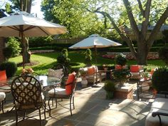 ~ graduation garden and patio