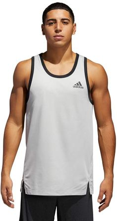 Howme Mens Athletic-Fit For Fitness Simple Summer Bodycon Basic Tech Tank