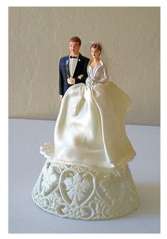 vintage wedding cake toppers - Google Search