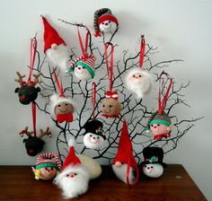 Christmas Ornaments - AmigurumiBB - Free Patterns