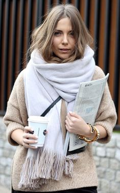 Who doesn't like to wrap themselves up in cozy knitwear during this time of the year.