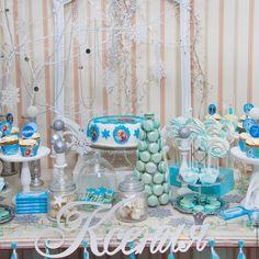"""Купить Candy Bar """"Холодное сердце"""" - голубой, детский праздник, детский подарок, сладкий подарок"""