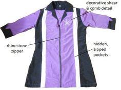 Rhinestone Jacket Purple