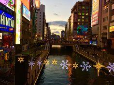 My favorite city, Osaka.