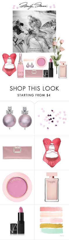 """""""STYLE FILE: the iconic Marilyn Monroe"""" by egchee ❤ liked on Polyvore featuring Roger Vivier, Tom Ford, Narciso Rodriguez, NARS Cosmetics and WALL"""