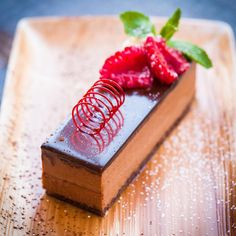 For #chocolate lovers everywhere. Valrhona chocolate delice. Who can resist? #dessert #hungryfortapas #manchester #restaurant #sweet #chef