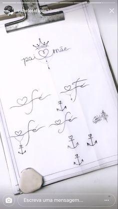 Girly Tattoos, Mini Tattoos, New Tattoos, Small Tattoos, Tattoo Pai E Mae, Divorce Tattoo, Future Tattoos, Calligraphy Art, Tatting