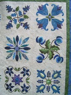 Beautiful applique