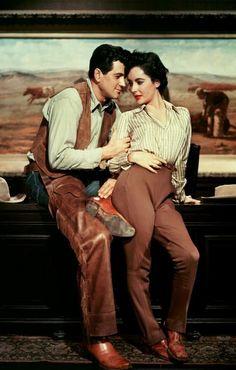 Rock Hudson & Elizabeth Taylor in Giant