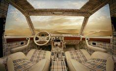 Burberry - much?  (Auto interior)