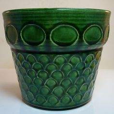 West German Potter Übertopf - Planter • Jasba • Mid Century