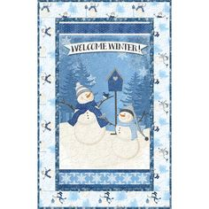 Welcome Winter, Snowman Quilt, Kids Rugs, Quilts, Home Decor, Comforters, Decoration Home, Kid Friendly Rugs, Quilt Sets