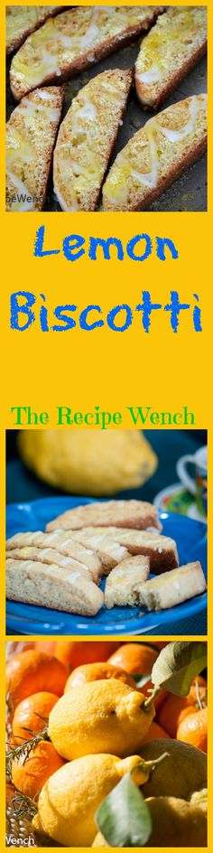 This lemon biscotti recipe is simple and straight-forward. These biscotti have a delicate lemon flavor and are not too sweet. Lemon Biscotti, Biscotti Cookies, Biscotti Recipe, Cookie Desserts, Easy Desserts, Cookie Recipes, Dessert Recipes, Health Desserts, Tea Cakes