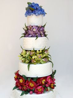 Flower Cake by Ron-Ben-Israel-Cakes
