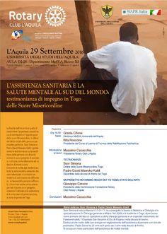 Rotary Club LAquila incontro su Assistenza sanitaria al Sud del mondo