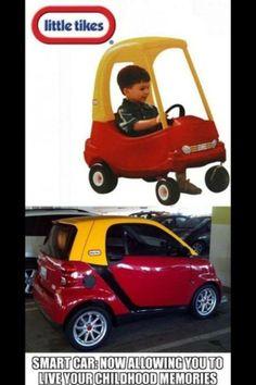 Smart Car Win Little Tikes Haha Funny Cute Stuff That S