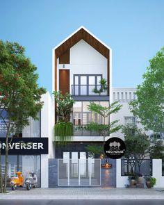Thiết kế nhà phố hiện đại NP09