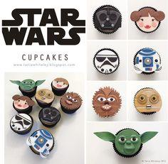 star wars cupcakes                                                                                                                                                                                 Más
