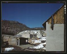 Placita, near Penasco, Taos Co., New Mexico. Collier, John, photographer. Created/Published: 1943 Spring.