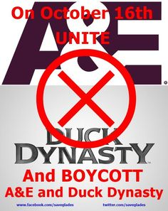Twitter / SaveGlades: On October 16th, lets all boycott ...