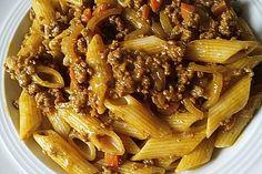 Curry-Hackfleisch-Nudeln 1