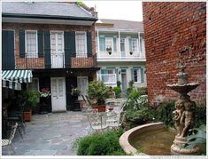 New Orleans French Quarters Courtyard | Home > New Orleans > French Quarter. Courtyard.