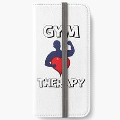 'Gym Therapy & Graphic Design With Big Heart' iPhone Wallet by Iphone Ca, Iphone Wallet, Therapy, My Arts, Gym, Graphic Design, Artists, Group, Art Prints
