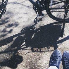 Disfrutando de un paseo matutino. #30diasenbici