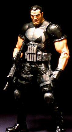 Punisher (Punisher) Custom Action Figure by Maelstrom  Base figure: Toybiz…