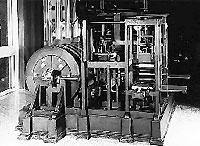 Koenig construiu a primeira máquina impressora em 1803 em Suhl.