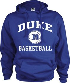 7d048f1ad6d4 Duke Blue Devils Perennial Basketball Hooded Sweatshirt Duke Basketball
