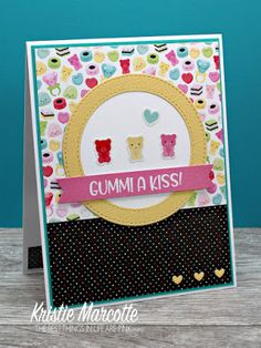 The best things in life are Pink.: Doodlebug's So Punny - 41 cards from one paper pad Cute Cards, Diy Cards, Confetti Background, One Sheet Wonder, Thing 1, Paper Smooches, Valentine Day Cards, Valentines, American Crafts